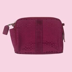 Coach Small Make-Up Bag